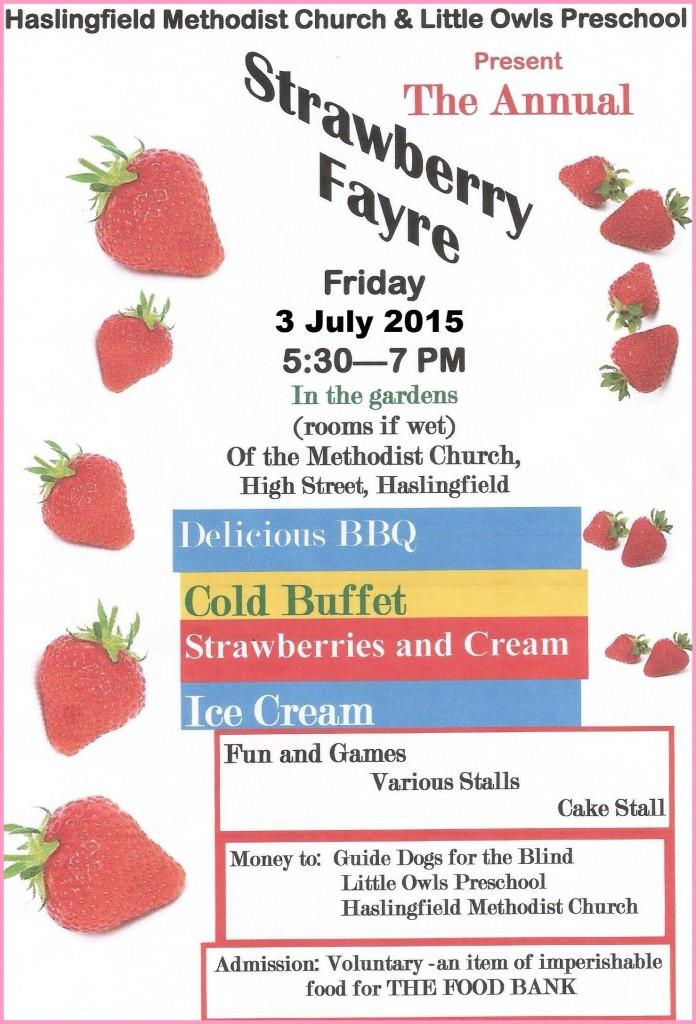 Strawberry Fayre 2015
