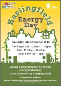 Haslingfield Energy day