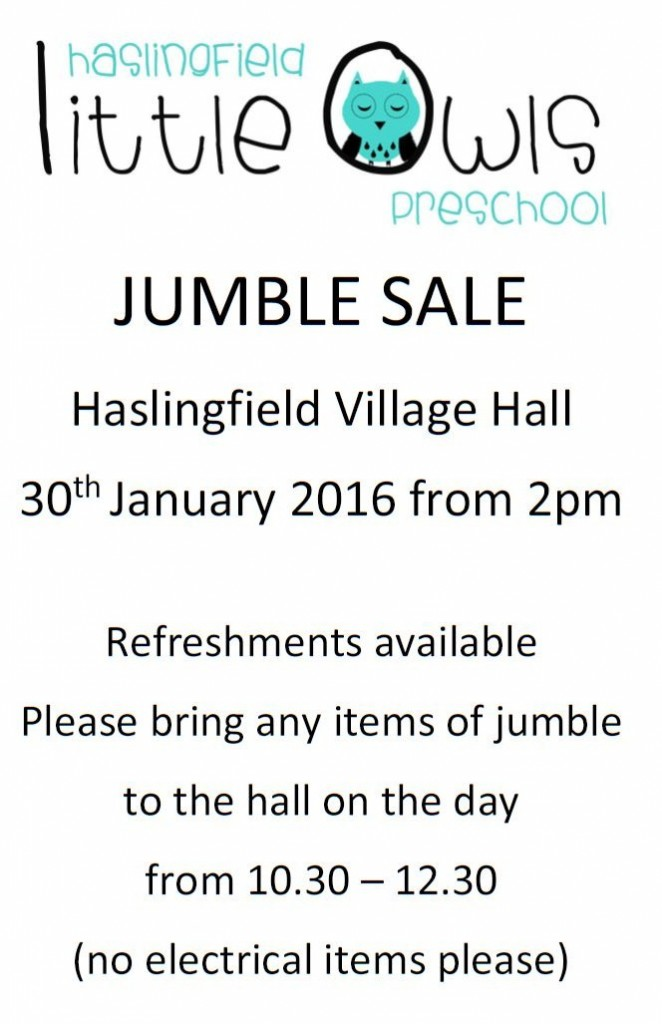 Little Owls Jumble Sale