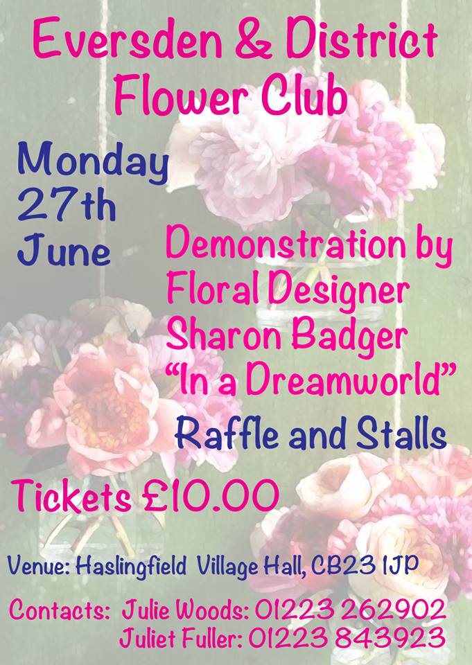 Flower Club Poster